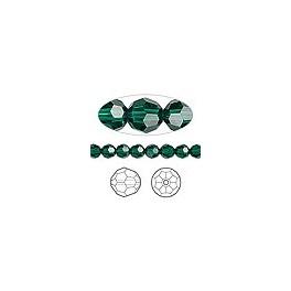 Kineski kristal lopta 4 mm emerald