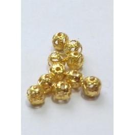 Filigranske lopte 4 mm boja zlata