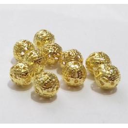 Filigranske lopte 6 mm boja zlata