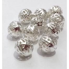Filigranske lopte 8 mm boja srebra