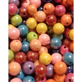 Decija perla lopta 10 mm miks boja