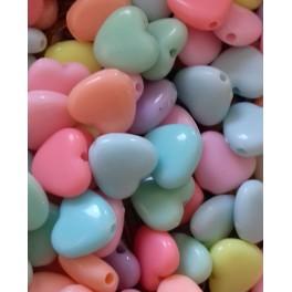 Decija perla srce 10 mm