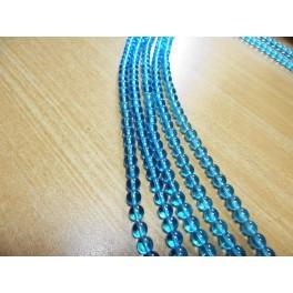 Kugla 6 mm svetlo plava niska 40 cm (55 kom)