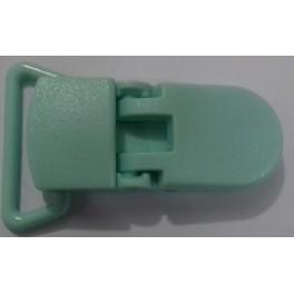 Klipsa za lanac za cucle silikonska 35 mm- rezeda