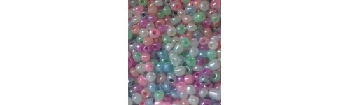 SEED BEADS 8/0 (3 MM) PASTELNA